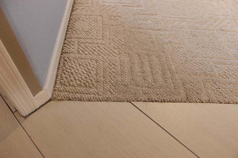Carpet To Tile Transition La Carpet Repair Amp Cleaning